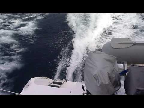 Mahe 36 in Tyrrhenian Sea 31 kn apparent