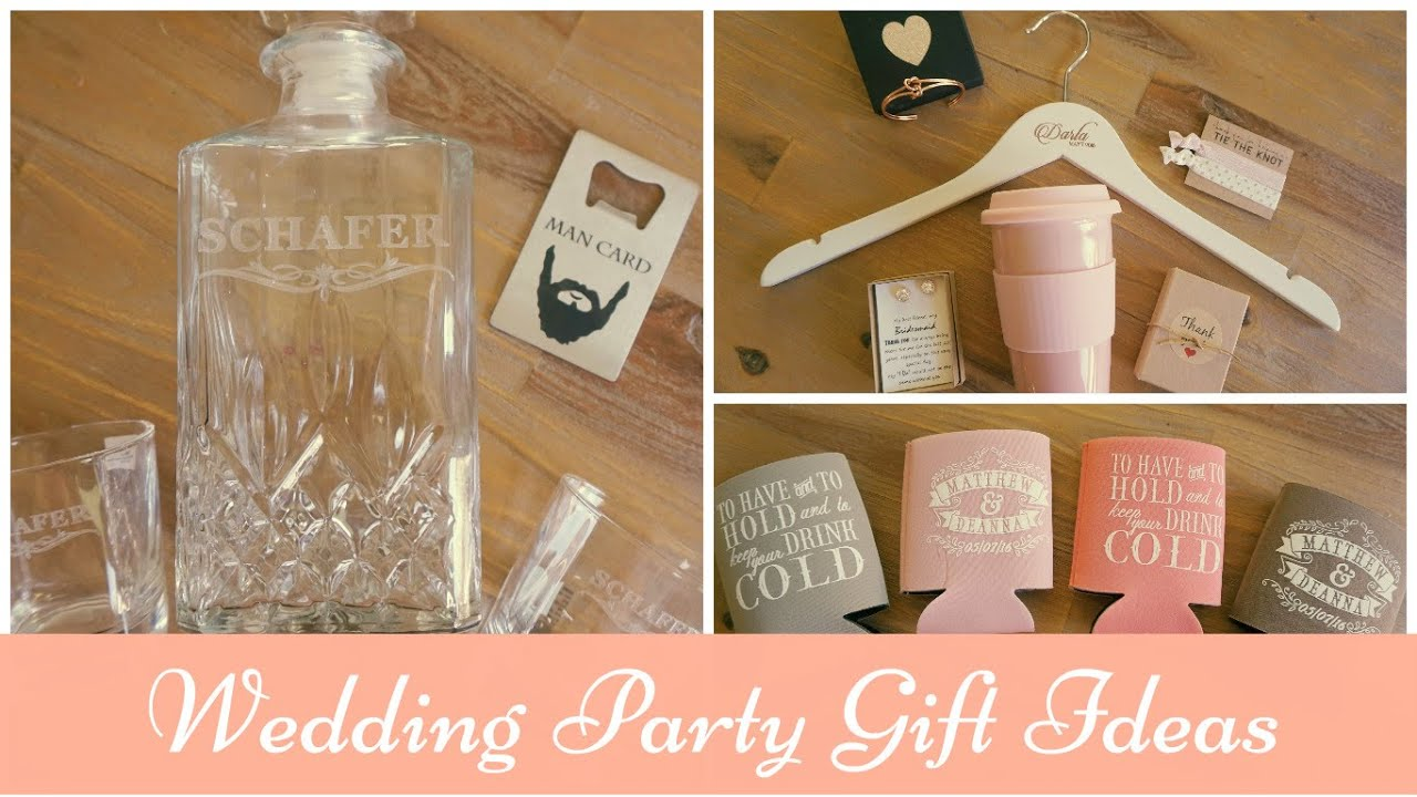 Wedding Gift Guide Suggestions : Bridal Party Gift Guide: Ideas for Groomsmen, Bridesmaids, Parents and ...