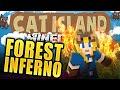 Minecraft: Cat Island #39 - Forest Inferno!