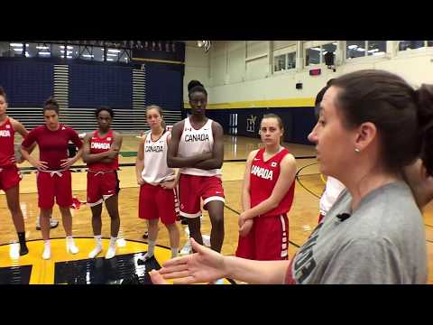Canada Basketball's Under-19 Women's Team is a Family