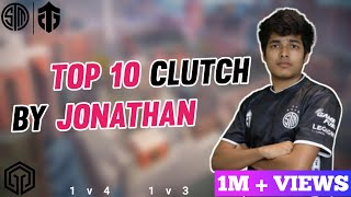 Download lagu Top 10 Clutches By Tsm Entity jonathan | Best 1v4 , 1v3  clutch | Cluetenz
