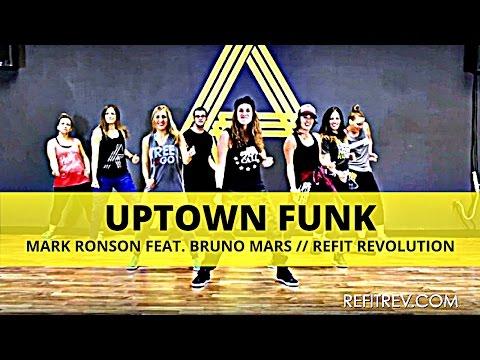 """Uptown Funk"" || Bruno Mars || Dance Fitness || REFIT® Revolution"
