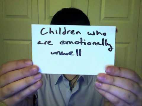 Emotionally Disturbed Students At >> Emotional Disturbance Youtube