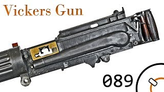Small Arms of WWI Primer 089: British Vickers MkI