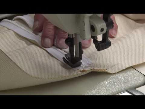 Zipper Closure on Throw Pillows - How to Make Throw Pillows