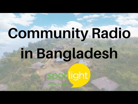 """Community Radio in Bangladesh"" - practice English with Spotlight"