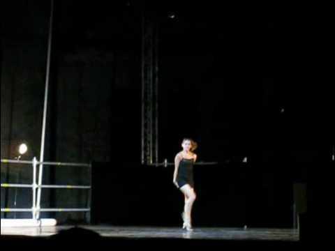 Cassandra Taylor performing Sandman