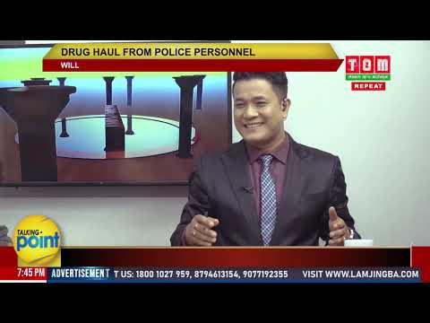 TOM TV TALKING POINT - DRUG HAUL FROM POLICE PERSONAL, EP-38