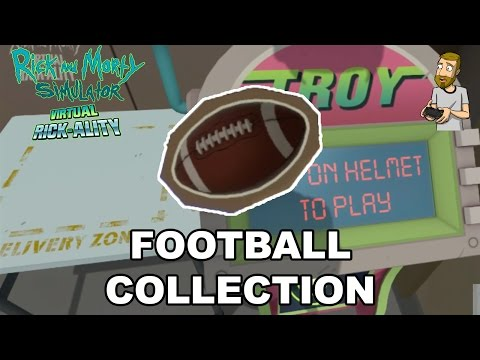 Rick and Morty Virtual Rick-Ality: TROY - Football Collection