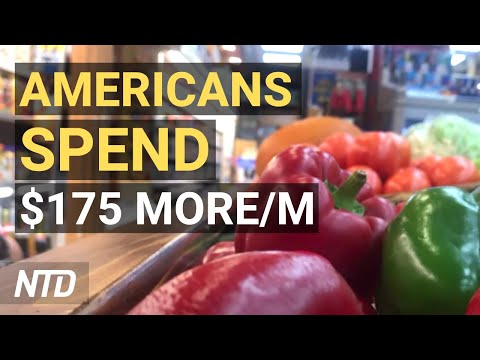 Inflation: Americans Spending $175 More/M; Pfizer Asks Vax EUA for Kids As Young as 5 | NTD Business