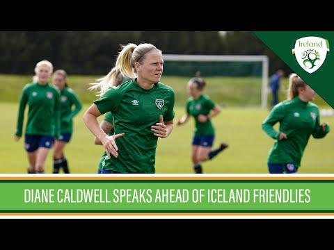 INTERVIEW | Diane Caldwell speaks ahead of Iceland friendlies