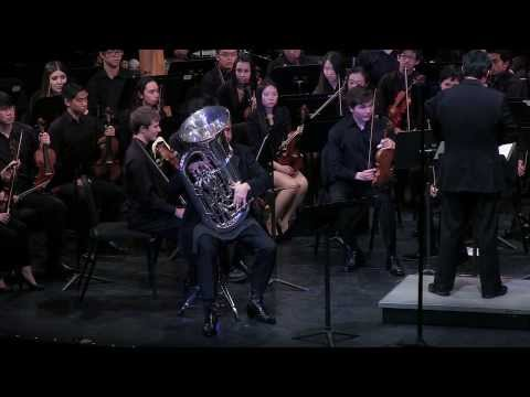 Vaughan Williams Tuba Concerto - Marc Bolin, Tuba