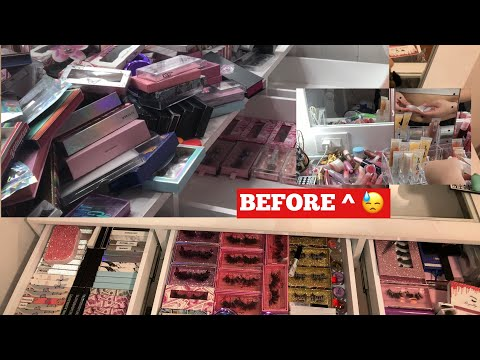 ORGANIZE MY VANITY WITH ME / VANITY TOUR | supporting small businesses 💓