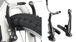 Тормоза v brake настройка, как настроить отрегулировать и установка на велосипед(Мой ВК https://vk.com/id263241899 Полезные видео с моего канала, о ремонте велосипеда. 1) Задняя втулка колеса обслуживан..., 2016-05-04T16:11:35.000Z)