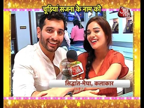 Megha Gupta & Siddhant Karnick's Karva Chauth Shopping