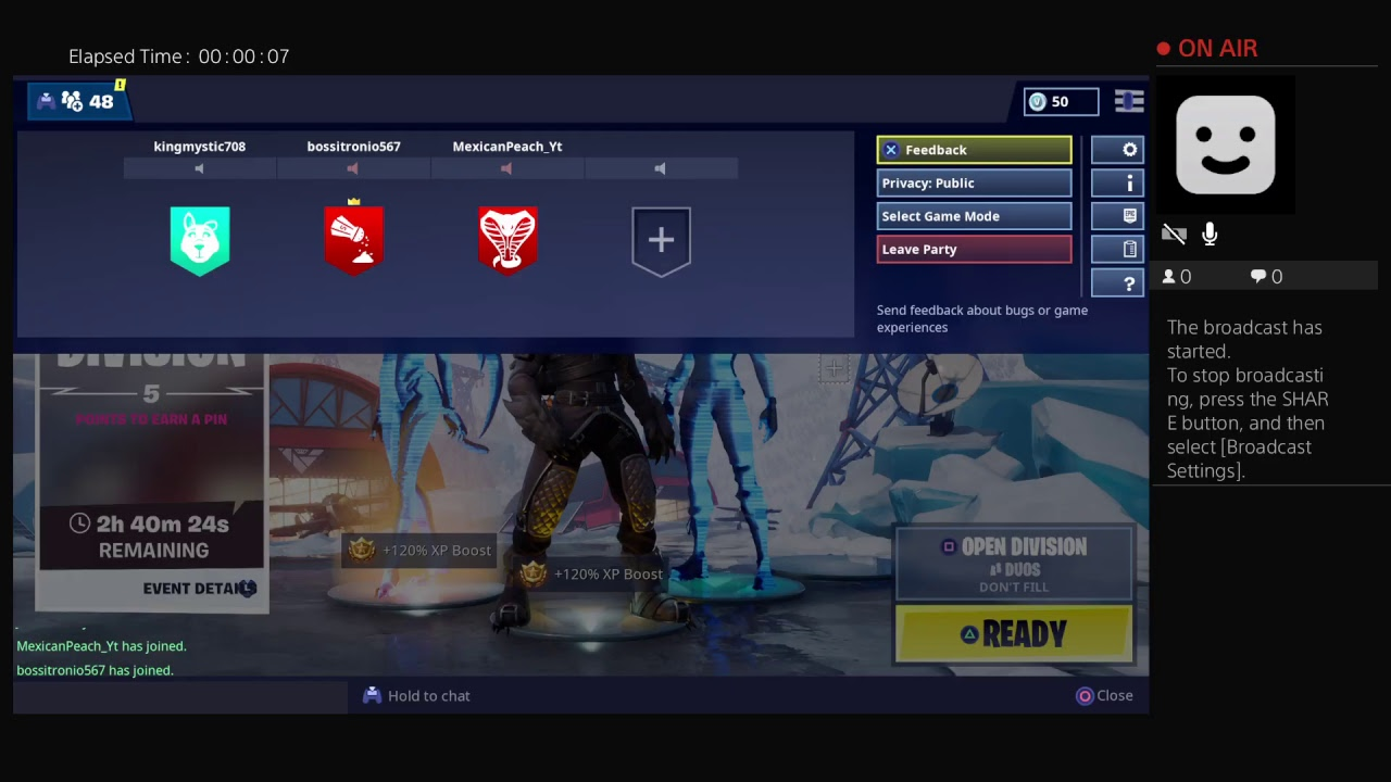 Watch or ill delete your Fortnite account