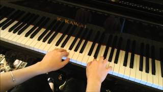 Play Along Piano Tutorial by Anastasia Hronis: Arabesque by Burgmuller
