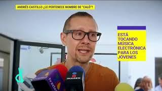 ¡El exintegrante de Caló, Andrés Castillo dice que el nombre del grupo es suyo! |De Primera Mano YouTube Videos