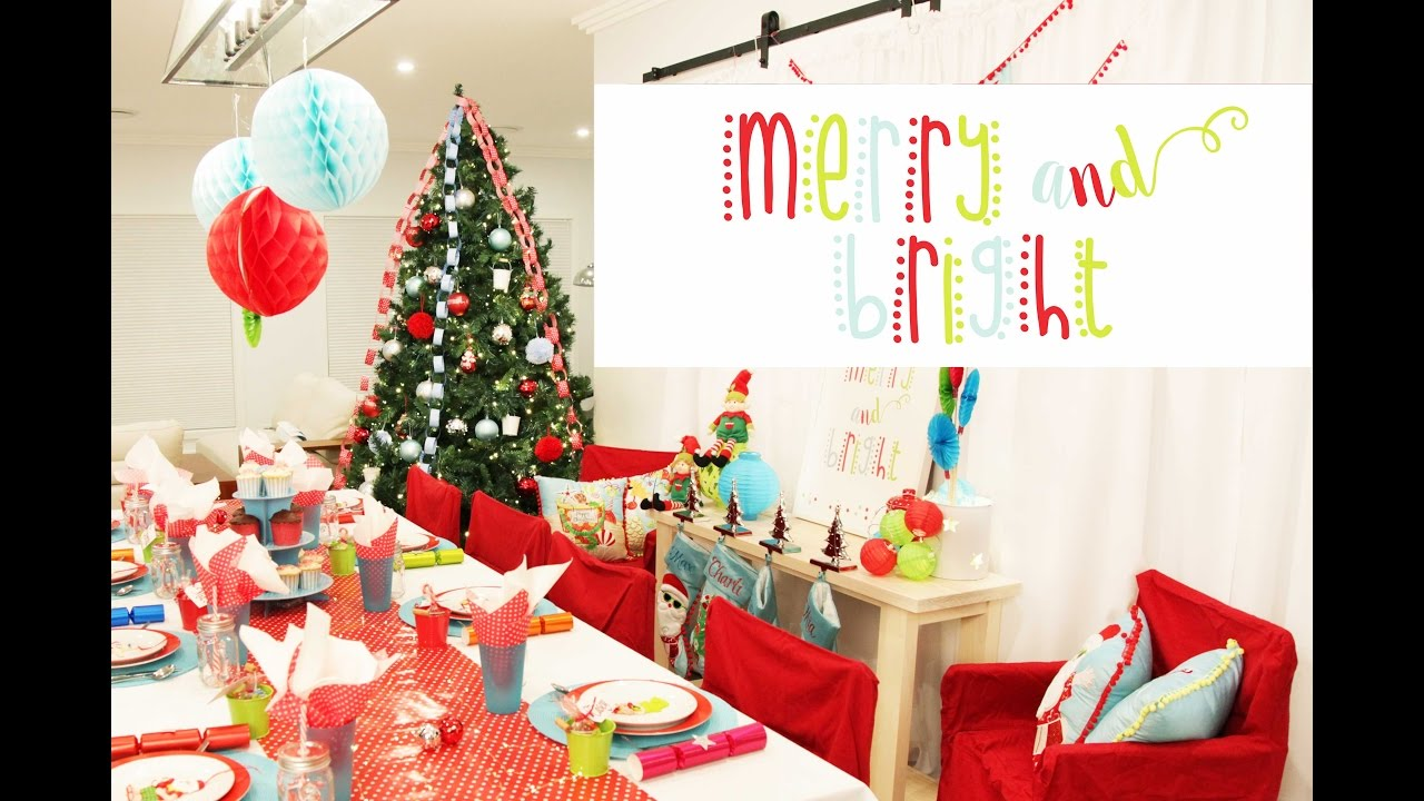merry bright christmas decorating inspirations - Merry And Bright Christmas Decorations