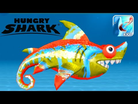 ? HUNGRY SHARK EVOLUTION | SHARKELEON | Gameplay - Walkthrough [Android - iOS]