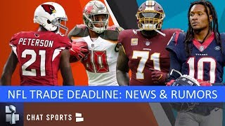 NFL Trade Rumors: O.J. Howard, Patrick Peterson, Trent Williams, DeAndre Hopkins & Leonard Williams