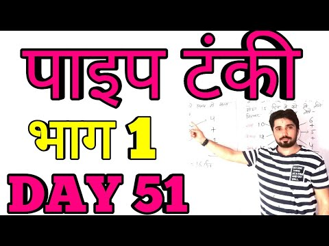 पाइप ओर टंकी भाग 1||Best tricks for Railway SSC Bank all competitive Exam ||