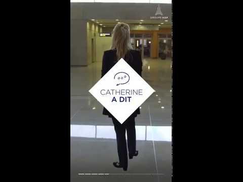 Catherine, Responsable exploitation aéroportuaire