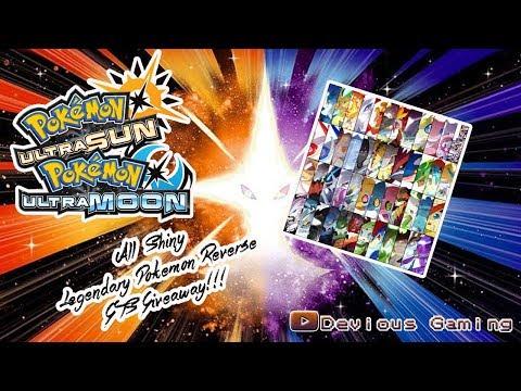pokemon ultra sun and moon gts giveaway