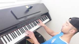 Zion Y Lennox Ft Balvin Otra Vez Piano cover by Ed Ward M.mp3
