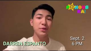 Kita-kits, mga ka-Famous! Darren Espanto