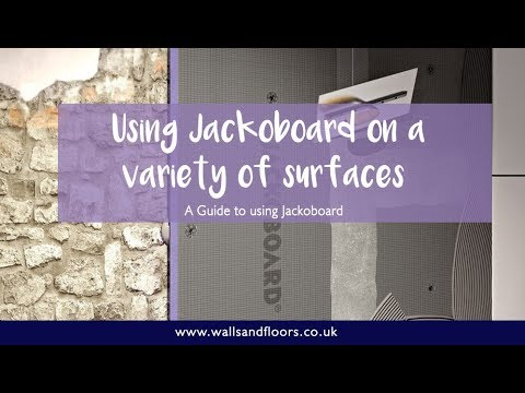 How to Install Jackoboard on a variety of different surfaces