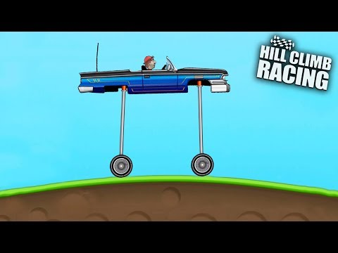 TOP 5 CRAZY VEHICLES (Part 2) - Hill Climb Racing