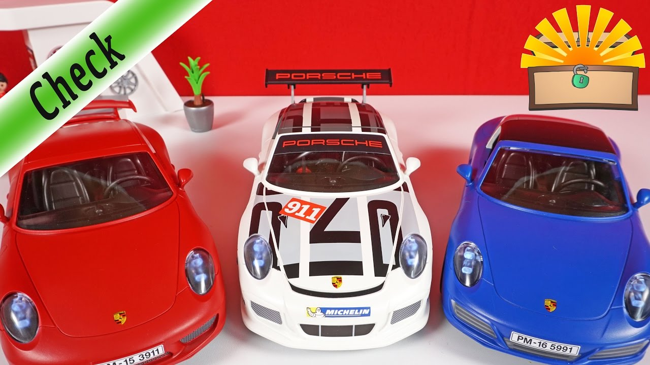 bester porsche der gro e vergleich carrera s vs gt3 cup vs targa 4s playmobil film deutsch. Black Bedroom Furniture Sets. Home Design Ideas