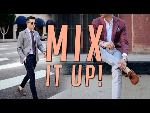 How to Mix and Match Suits || Men's Fashion Lookbook 2017 || Gent's  Lounge