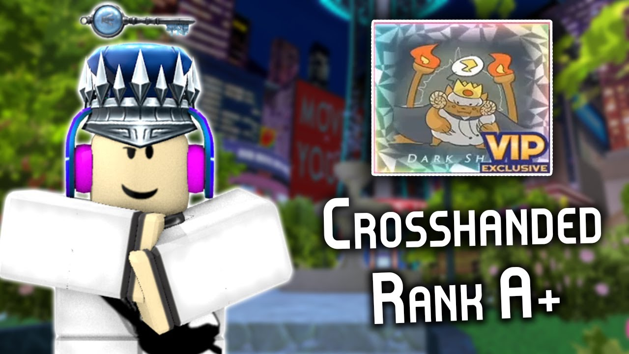 Doing *Dark Sheep* with CROSSHANDED again in RoBeats (very epic)
