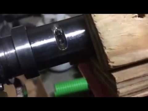 Hydraulic Cylinder Locking Wire Removal