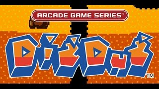 Arcade Game Series: Dig Dug Gameplay in HD 1080p (PS4)