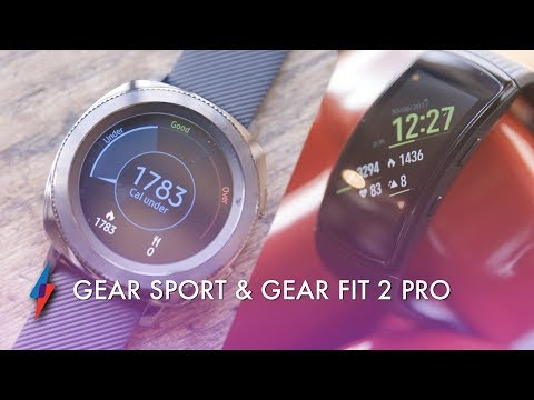 First Look - Samsung Gear Sport & Gear Fit 2 Pro | Trusted Reviews