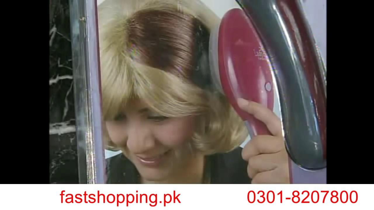 Hair Coloring Brush - YouTube