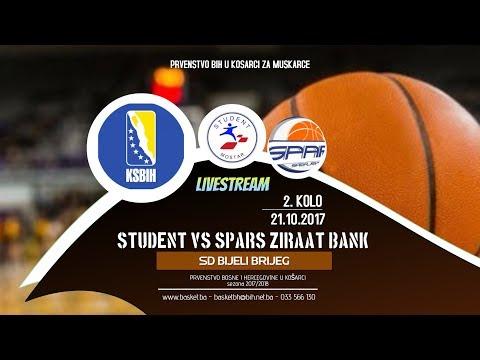 Student vs Spars Ziraat Bank • 2 kolo • 2017/2018
