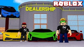 MY OWN SUPER CARS DEALERSHIP in ROBLOX VEHICLE TYCOON
