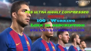 pes 2017 free download for pc highly compressed