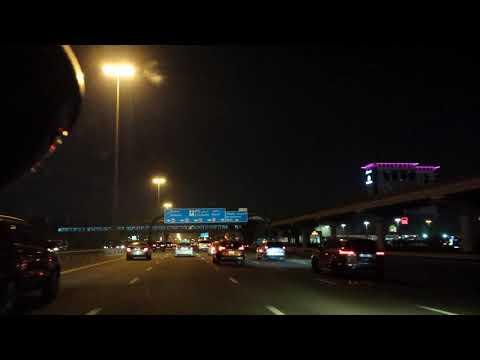 NIght Driving at Beautiful Dubai p2