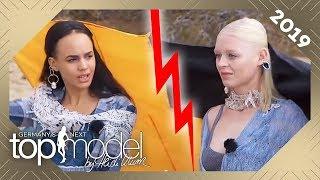 Streit während des Shootings! Melissa & Joy im Fashionbattle in der Wüste | GNTM 2019 | ProSieben
