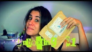 Compras aliexpress - Unboxing #1 | POR CAROL GOMES