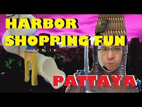 KIDS DISNEY IN PATTAYA: HARBOR shopping mall vlogg