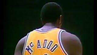 Bob McAdoo Lakers Highlights - Scoring Machine