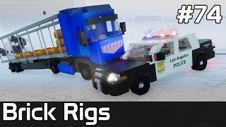 Brick Rigs PL [#74] POLICJANT kontra Złodziej na ŚNIEGU /z Plaga