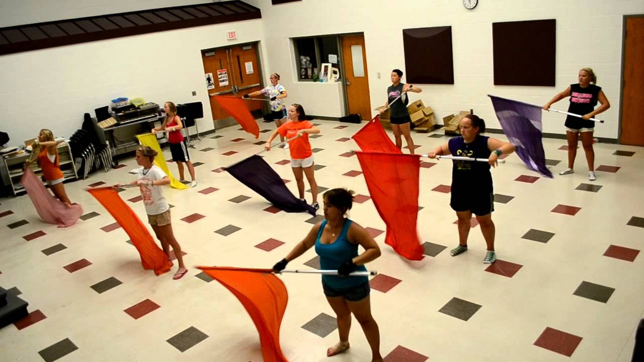 Color Guard Warm-Up Routine