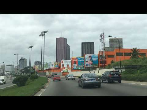 Driving in Abidjan jul 2018